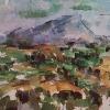 La montagna Sainte Victoire
