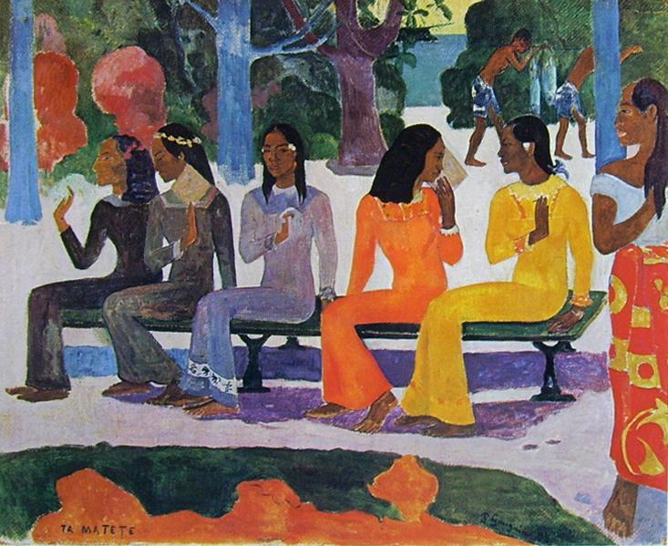 Paul Gauguin-Ta Matete