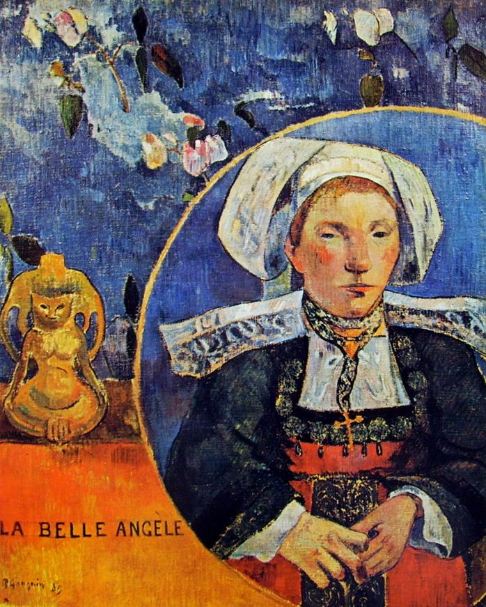 Paul Gauguin-la belle Angene