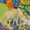 Paul Gauguin-cavallo bianco
