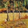 Paul Gauguin-contadino che raccoglie il fieno