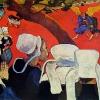 Paul Gauguin-visione dopo il sermone