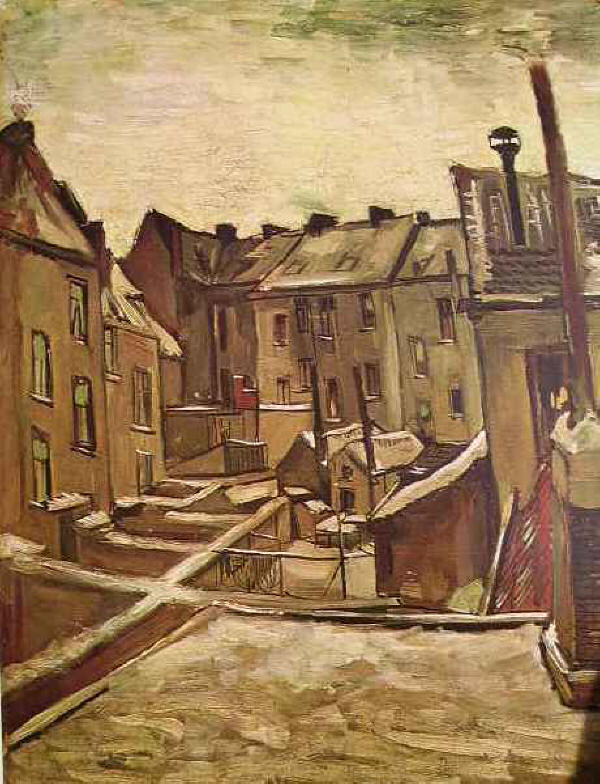 Van Gogh case ad Anversa