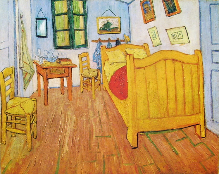 Van Gogh la camera Van Gogh ad Arles
