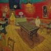Van Gogh Interno di un caffe di notte