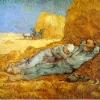 Van Gogh La siesta