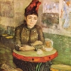 Van Gogh donna al cafe du tambourin
