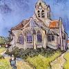 Van Gogh la chiesa di auvier 812