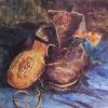 Van Gogh natura morta con paio di scarpe