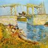 Van Gogh ponte di langlois 490