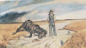 Fattori Il cavallo morto
