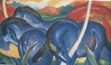 Marc, I grandi cavalli azzurri